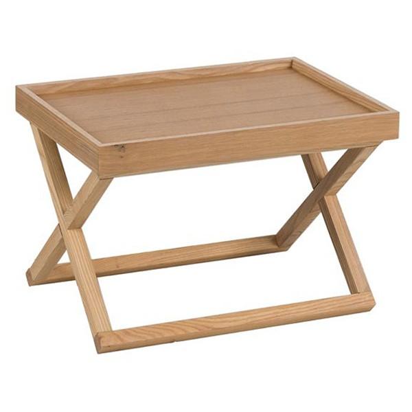 END COFFEE TABLE ΦΥΣΙΚΟ 58x40,5xH39cm