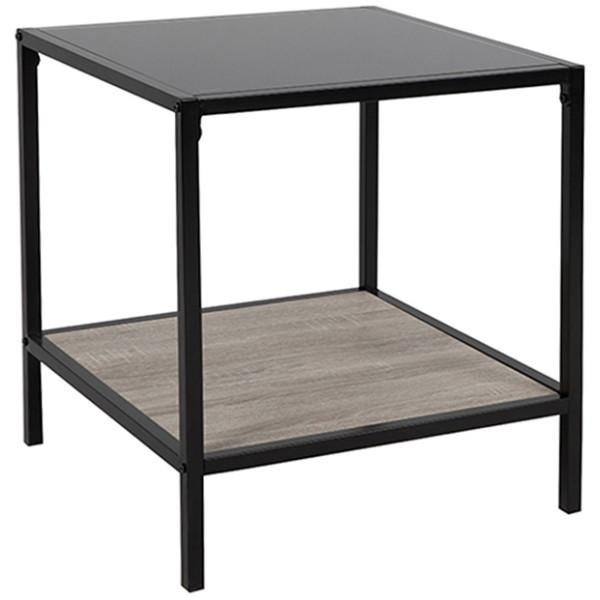LOOK SIDE TABLE ΜΑΥΡΟ SONOMA 51x51xH56cm