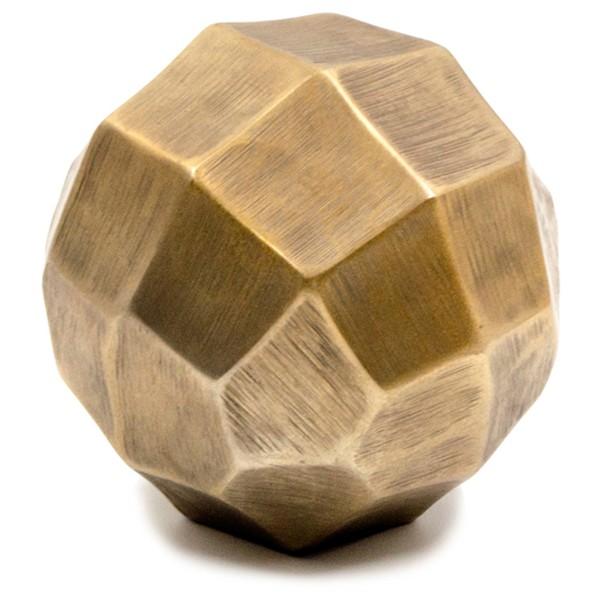 PRISMA ΜΠΑΛΑ ANTIQUE GOLD ΑΛΟΥΜΙΝΙΟ Δ12,5cm