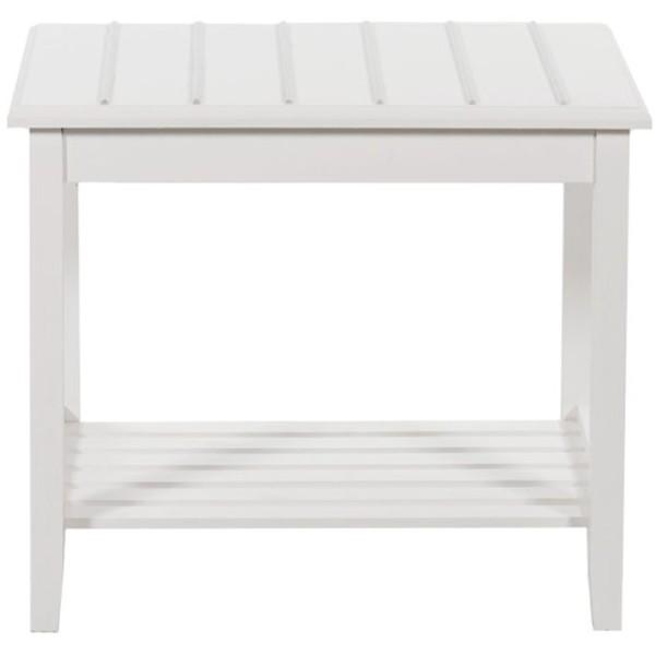 WHITE ΒΑΛΙΤΣΟΘΗΚΗ ΛΕΥΚΟ 65x45xH57cm